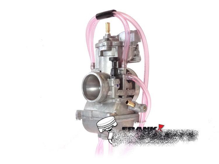 Keihin pwk 38 parts accessories ebay keihin pwk 38 air striker carburetor short body quad vent carb new upgrade fandeluxe Images