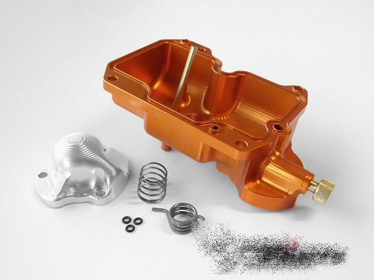Details about Powerbowl Keihin FCR MX flatslide carburetor / 32 37 39 40 41  * ORANGE * UPGRADE