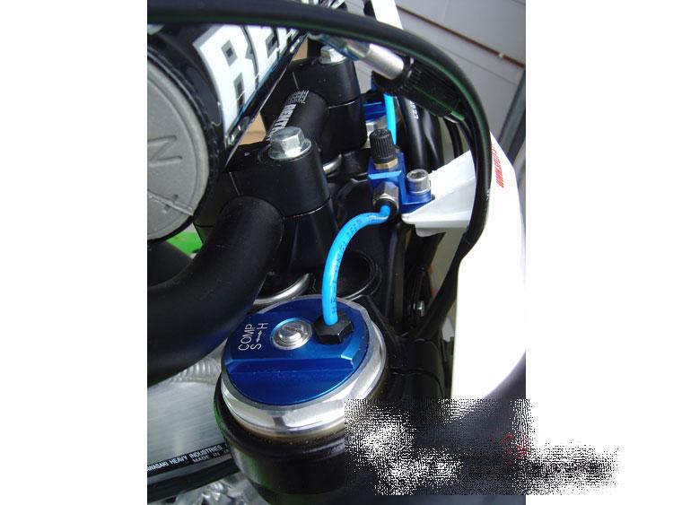 Luftpumpe für KAWASAKI KXF 450 für Luftgabel SSF-Air-System # air pump
