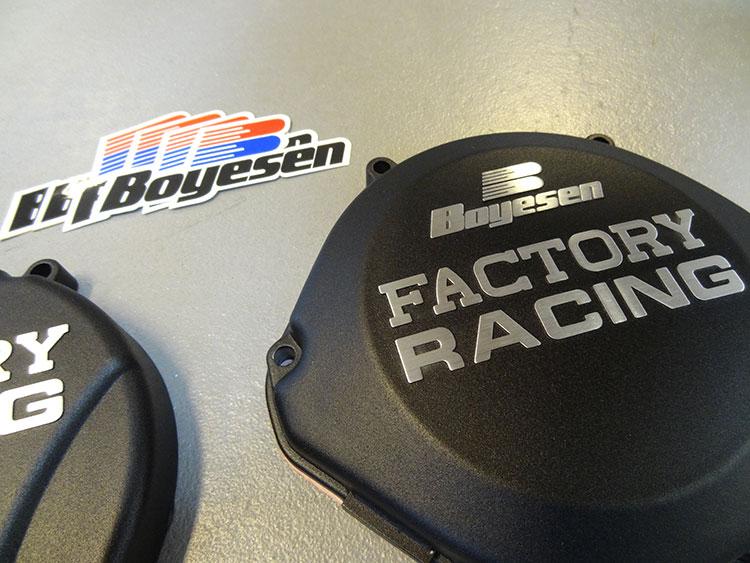 Kupplungs Deckel schwarz 1987-2001 Honda CR 500 500R CR500R Boyesen Zündungs