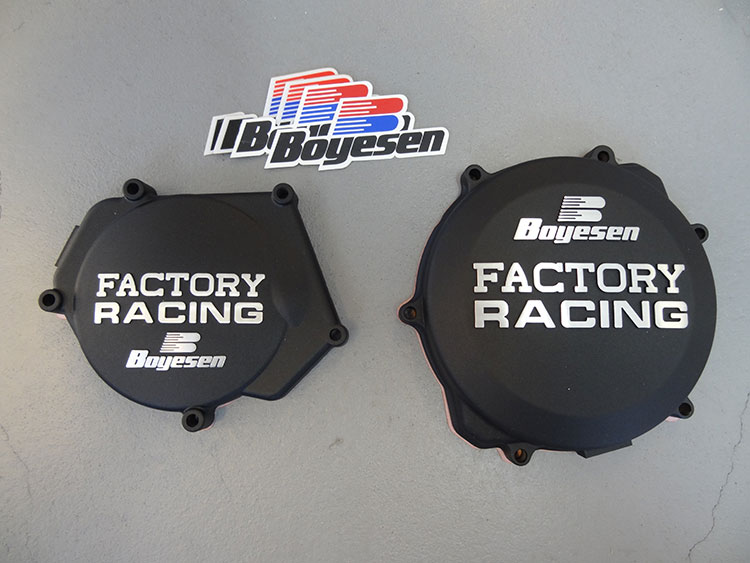 Details About Boyesen Factory Racing Clutch Ignition Cover Black 99 18 Yamaha YZ 250 YZ250